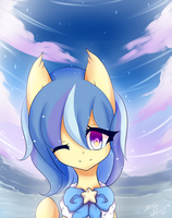 Curledponycreations ~ { YCH } by Majo-Shoujo