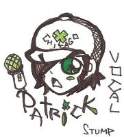 patrick-fall out boy by xGraceCx