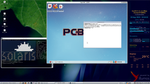 OpenIndiana Screenshot with PCBSD running in kvm by rvc-2011
