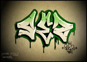 Sez Graff by jKeeO