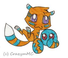 Digimon Adoptables ++ Owner Cookie-Stalker ++ by CrazymMC