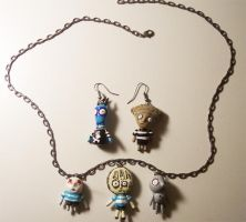 Oyster Boy Jewelry Set by jnsun