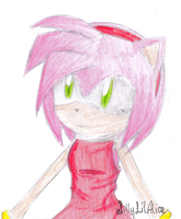 Amy Rose by SillyLilAlice