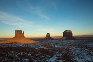 Sunset in Monument Valley 1 by Mac-Wiz