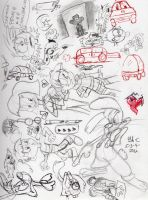 Kaboodle of Doodles- 5-4-2012 by spongefox