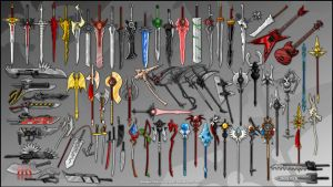 Weapon Collection by KupoGames