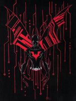 Batman Beyond by WaruiNeko