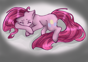 Sleep well Pinkamena by harecandy