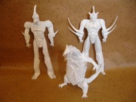 Guyver collection by origami-artist-galen