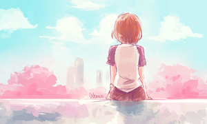 Sakura view by WernoZaur