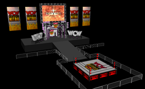 WCW Arena Set Up by GaryMc10