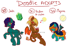 Doodle pony adopts adopts 12 CLOSED by Sarahostervig