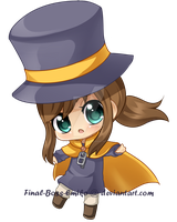 Hat Kid by Final-Boss-Emiko