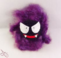 Gastly - Pokemon by AmiAmaLilium
