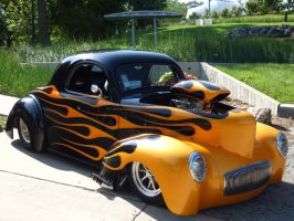 Willys Americar Coupe by Carsiano
