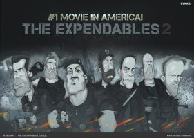 The Expendables by krasivon