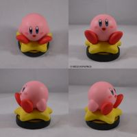 Kirby Warp Star Amiibo by ChibiSilverWings