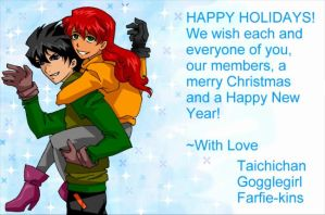 Merry Christmas by teentitans