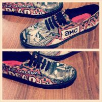 The Walking Dead vans by noahsartcustoms