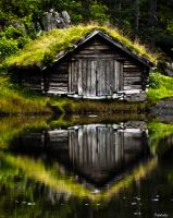 old boathouse2 by Hennys