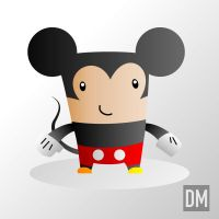 Mickey Mouse by DanielMead