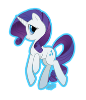 MLP: Rarity by DinKelion