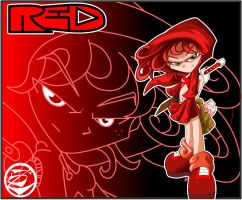 red by culdesackidz