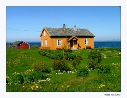The House by the Sea by auroraboralis