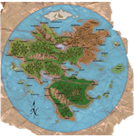 World Map Labeled by UndefinedScott