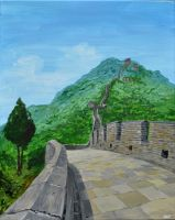 Great Wall of China by MBrainspaz