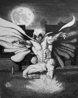 Moon Knight Lands. by Meador