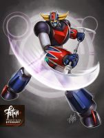 6/32 Robots / GRENDIZER by FranciscoETCHART