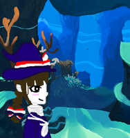 Wadanohara in the Deep Blue Sea by PacificIslanderGirl