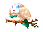 Rowlet by kunai-of-the-sand