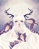 Deer: Protection Series by parochena