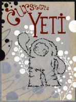 yeti poster by curster