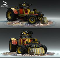 Battle Carzzz - Dozer by 600v