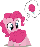 Cotton Candy Tail Vector by linkitch