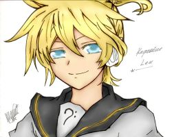 Len Colored by kitcat190