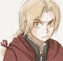 Edward Elric by pencil-cute