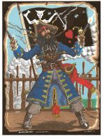 Blackbeard by SaintAlbans