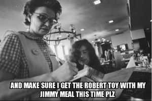 One Jimmy Meal Plz... by VisionsofTechnicolor