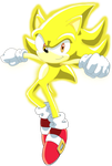 Super Sonic the Hedgehog by SiIent-AngeI
