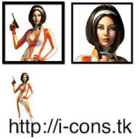 No one lives forever icons by mmr85