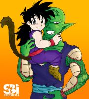 Piccolo and Gohan 2 by PookyWooky