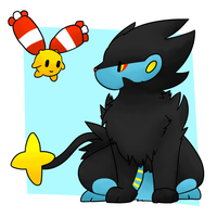 Luxray and Chingling