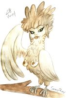 30 Day Monster Challenge - The Harpy by Sunny-X-Ray