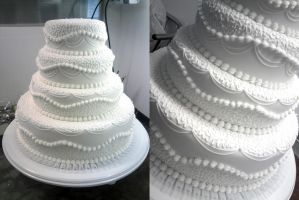 Wedding cake by Daweee