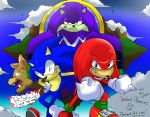 Sonic and Knuckles: Endangered Species by WaniRamirez