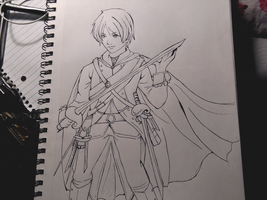prussia lineart by Itacat